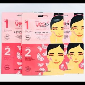 3 Yes to Grapefruit Correct and Repair Facial Kit